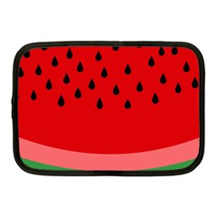 Watermelon  Netbook Case (medium)  by Valentinaart