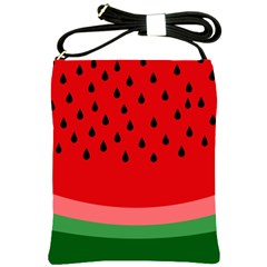 Watermelon  Shoulder Sling Bags