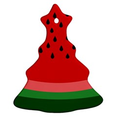 Watermelon  Ornament (christmas Tree) by Valentinaart