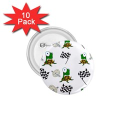 Speed 1 75  Buttons (10 Pack) by Valentinaart