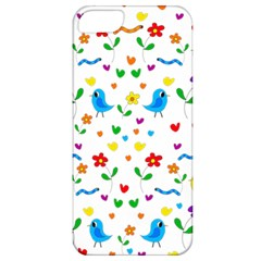 Cute Birds And Flowers Pattern Apple Iphone 5 Classic Hardshell Case