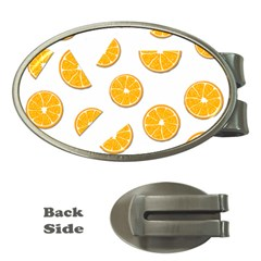 Oranges Money Clips (oval)  by Valentinaart