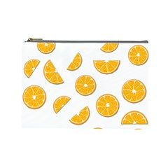 Oranges Cosmetic Bag (large)
