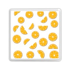 Oranges Memory Card Reader (square)  by Valentinaart