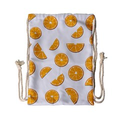Oranges Drawstring Bag (small) by Valentinaart
