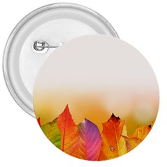 Autumn Leaves Colorful Fall Foliage 3  Buttons by Amaryn4rt