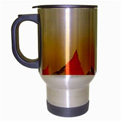 Autumn Leaves Colorful Fall Foliage Travel Mug (silver Gray) by Amaryn4rt