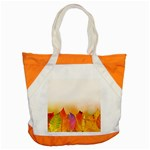 Autumn Leaves Colorful Fall Foliage Accent Tote Bag Front