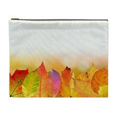 Autumn Leaves Colorful Fall Foliage Cosmetic Bag (xl) by Amaryn4rt