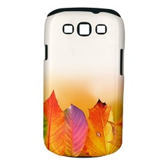 Autumn Leaves Colorful Fall Foliage Samsung Galaxy S Iii Classic Hardshell Case (pc+silicone) by Amaryn4rt