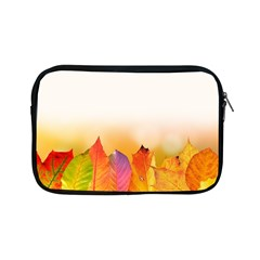 Autumn Leaves Colorful Fall Foliage Apple Ipad Mini Zipper Cases by Amaryn4rt