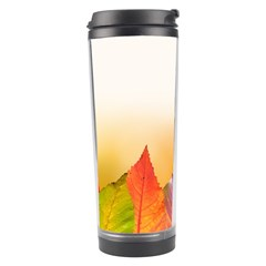 Autumn Leaves Colorful Fall Foliage Travel Tumbler by Amaryn4rt