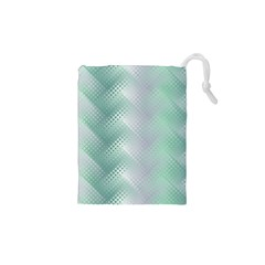 Background Bubblechema Perforation Drawstring Pouches (xs)