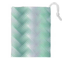 Background Bubblechema Perforation Drawstring Pouches (xxl) by Amaryn4rt