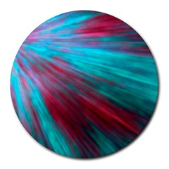 Background Texture Pattern Design Round Mousepads by Amaryn4rt