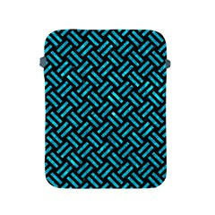 Woven2 Black Marble & Turquoise Marble Apple Ipad 2/3/4 Protective Soft Case