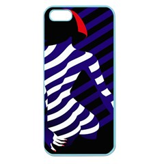 Illustration Of A Woman s Back Apple Seamless Iphone 5 Case (color) by Jojostore