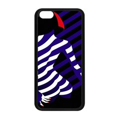 Illustration Of A Woman s Back Apple Iphone 5c Seamless Case (black)