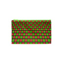 Green Red Box Cosmetic Bag (xs) by Jojostore