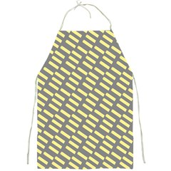 Yellow Washi Tape Tileable Full Print Aprons