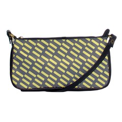 Yellow Washi Tape Tileable Shoulder Clutch Bags by Jojostore