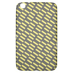 Yellow Washi Tape Tileable Samsung Galaxy Tab 3 (8 ) T3100 Hardshell Case  by Jojostore