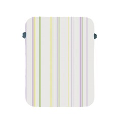 Line Yellow Purple Green Apple Ipad 2/3/4 Protective Soft Cases