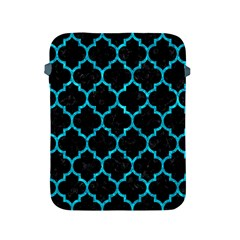 Tile1 Black Marble & Turquoise Marble Apple Ipad 2/3/4 Protective Soft Case