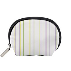 Line Yellow Purple Green Accessory Pouches (small)