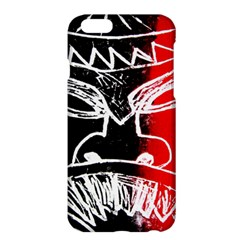 Mask Face Red Black Apple Iphone 6 Plus/6s Plus Hardshell Case by Jojostore