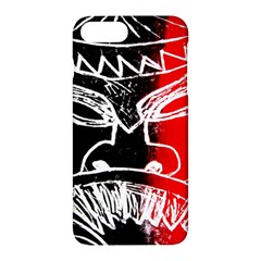Mask Face Red Black Apple Iphone 7 Plus Hardshell Case by Jojostore