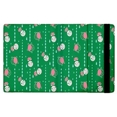 Pig Face Apple Ipad 2 Flip Case