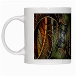 Mosaics Stained Glass White Mugs Left