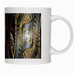 Mosaics Stained Glass White Mugs Right