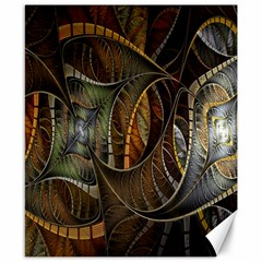 Mosaics Stained Glass Canvas 8  X 10