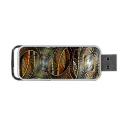 Mosaics Stained Glass Portable Usb Flash (one Side) by Jojostore