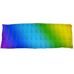 Rainbow Color Orange Yellow Green Purple Body Pillow Case Dakimakura (two Sides)