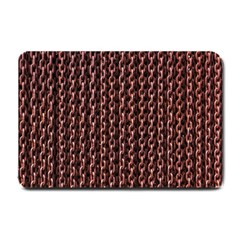 Chain Rusty Links Iron Metal Rust Small Doormat  by Amaryn4rt