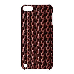 Chain Rusty Links Iron Metal Rust Apple Ipod Touch 5 Hardshell Case With Stand