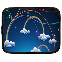 Rainbow Netbook Case (large)