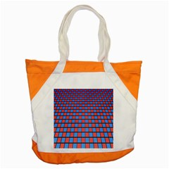Red Blue Accent Tote Bag by Jojostore