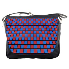 Red Blue Messenger Bags