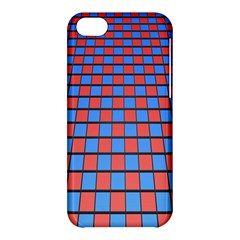 Red Blue Apple Iphone 5c Hardshell Case