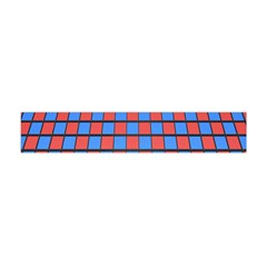 Red Blue Flano Scarf (mini)