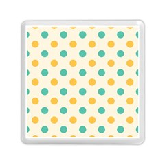 Round Blue Yellow Memory Card Reader (square)  by Jojostore