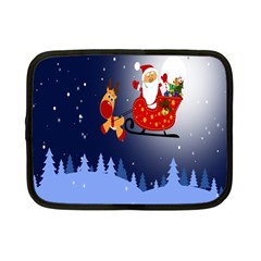 Santa Clause Netbook Case (small)