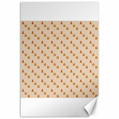 Christmas Wrapping Paper Canvas 12  X 18
