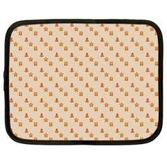 Christmas Wrapping Paper Netbook Case (xl)