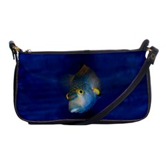 Fish Blue Animal Water Nature Shoulder Clutch Bags by Amaryn4rt