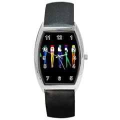 Sexy Collective Artists Barrel Style Metal Watch